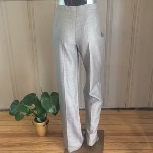 NEW Escada Wool Silk Blend Trousers